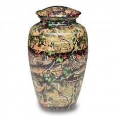 Small Camouflage Cremation Urn-1981